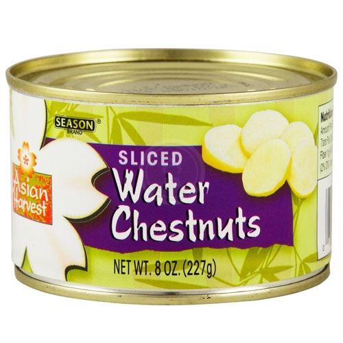 Kosher Season Sliced Water Chestnuts 8 Oz