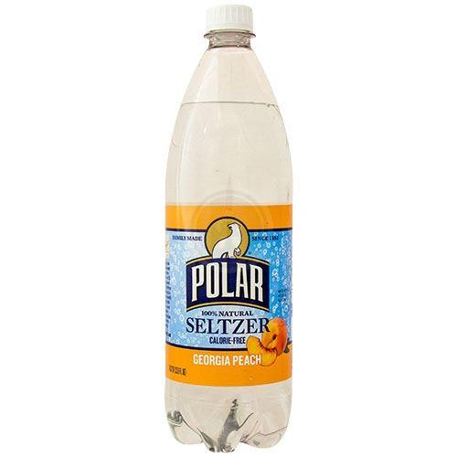 Polar Seltzer Georgia Peach, 33 8 Oz